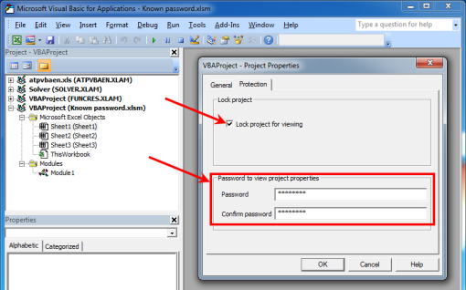 crack excel 2016 vba password
